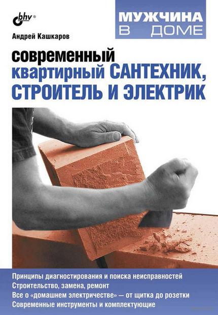 Современный квартирный сантехник, строитель и электрик — фото, картинка