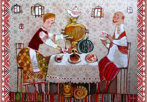 "Магнит сувенирный ""Фолк"" (арт. 1125) — фото, картинка"