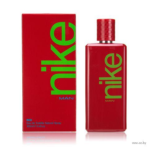 "Туалетная вода для мужчин ""Nike. Red"" (100 мл) — фото, картинка"