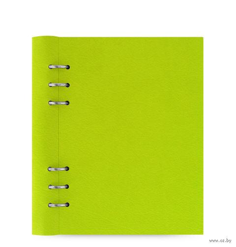"""Записная книжка Filofax """"Clipbook Classic"""" (A5; pear)"""