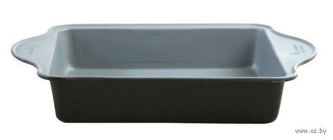 Форма для выпекания алюминиевая с керамическим покрытием (27,5х25х4,8 см)