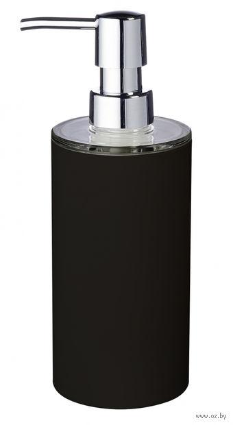 """Дозатор для жидкого мыла """"Touch"""" (340 мл; черный) — фото, картинка"""