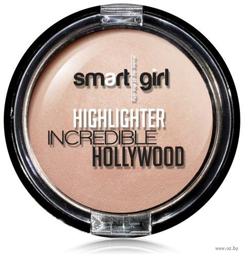 """Хайлайтер для лица """"Incredible Hollywood"""" тон: 02, жемчужно-розовый — фото, картинка"""