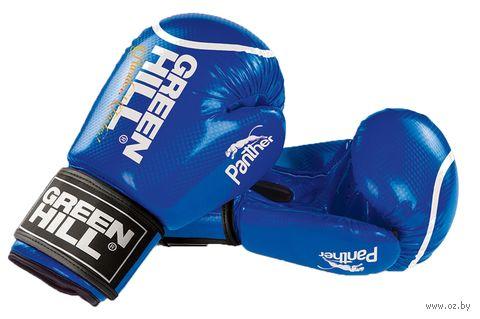 """Перчатки боксерские """"Panther"""" BGP-2098 (12 унций; синие) — фото, картинка"""