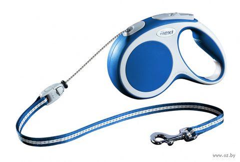 "Поводок-рулетка для собак ""Vario"" (размер M; до 20 кг/5 м; синий)"