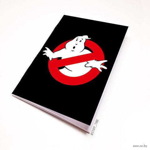 """Блокнот белый """"Охотники за привидениями"""" А5 (080)"""