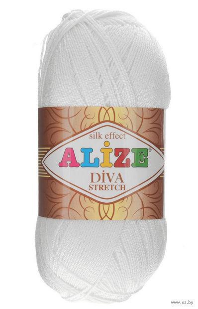 """Пряжа """"ALIZE. Diva Stretch №55"""" (100 г; 400 м) — фото, картинка"""