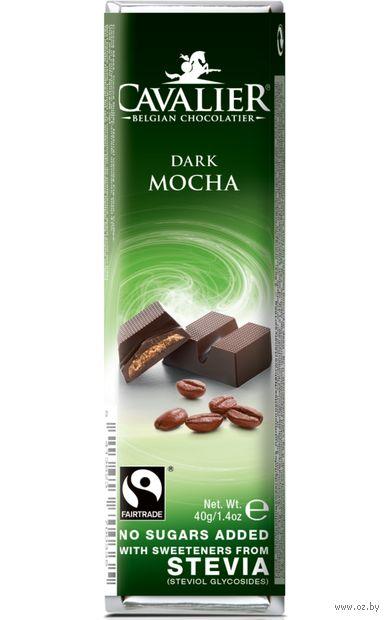 "Шоколад горький ""Cavalier. Кофе"" (40 г) — фото, картинка"