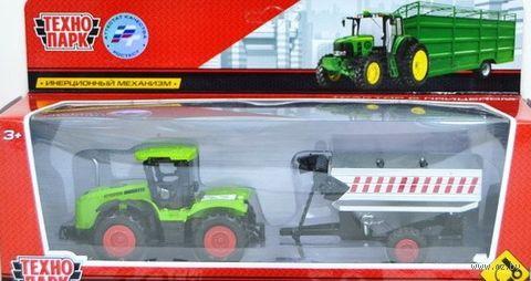Трактор с прицепом (арт. 77039-R) — фото, картинка