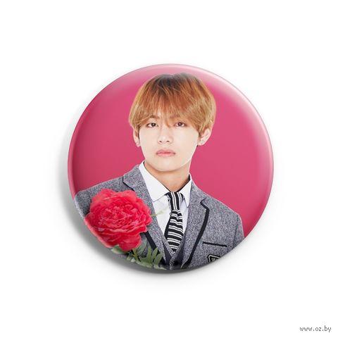 "Значок маленький ""BTS. Taehyung"" (арт. 299) — фото, картинка"