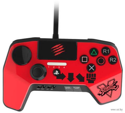 Аркадный геймпад Mad Catz SFV FightPad PRO for PS 4/3 - Ken