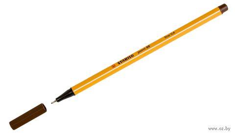 """Ручка капиллярная """"Point 88"""" (коричневая; 0,4 мм)"""