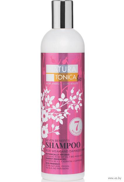 """Шампунь для волос """"Для ослабленных и поврежденных волос"""" (400 мл) — фото, картинка"""