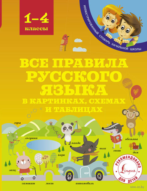 Все правила русского языка в картинках, схемах и таблицах — фото, картинка