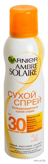 "Спрей солнцезащитный для тела ""Ambre Solaire"" SPF 30 (200 мл) — фото, картинка"