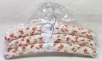 Набор вешалок для одежды матерчатых (3 шт, 39 см)