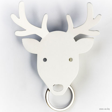 """Держатель для ключей и аксессуаров """"Deer"""" (белый)"""