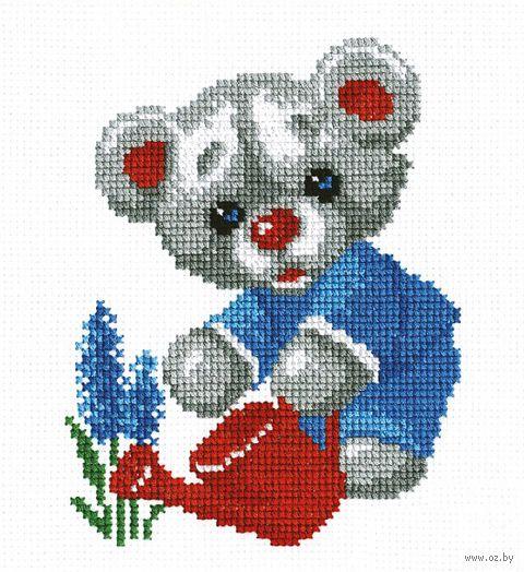"""Вышивка крестом """"Мишка"""" (арт. 824)"""