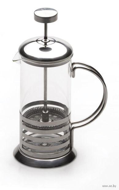 Кофейник с прессом, стекло/металл, 800 мл (арт. 1106802)