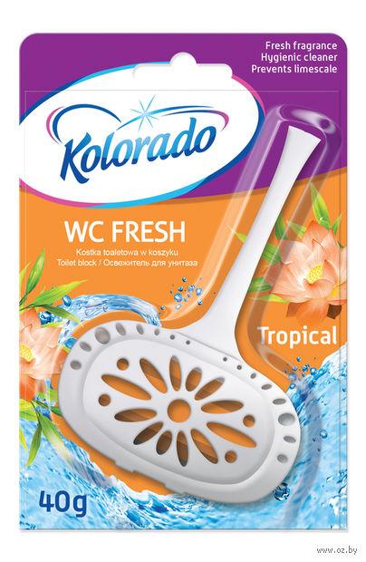 """Освежитель для унитаза """"Kolorado WC Fresh. Тропический"""" (40 г) — фото, картинка"""