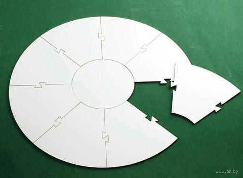 Поле сборное для создания настольных игр (круглое) — фото, картинка