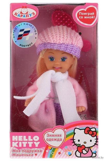 "Кукла ""Hello Kitty. Машенька в зимней одежде"" — фото, картинка"