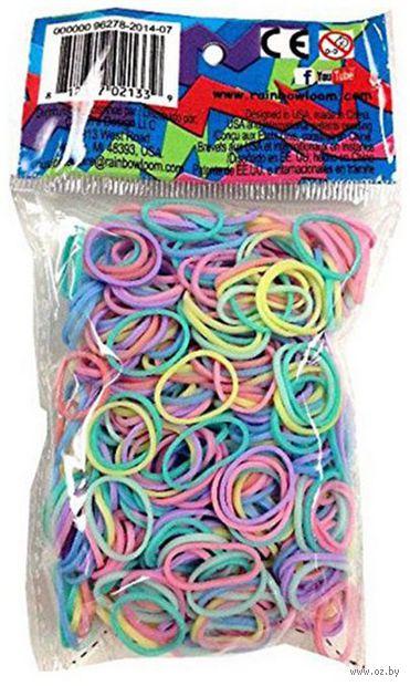 """Набор резиночек для плетения """"Rainbow Loom. Пастель Микс"""""""