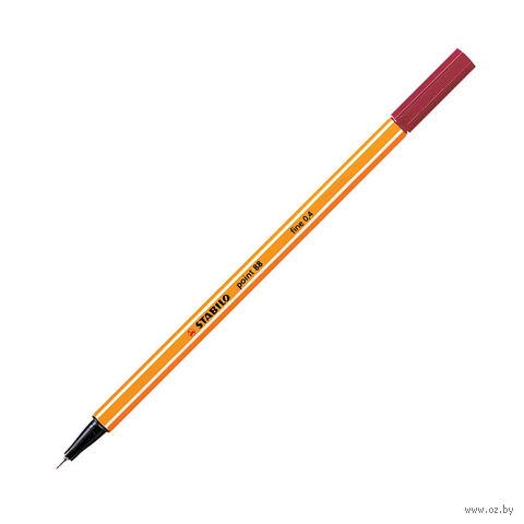 """Ручка капиллярная """"Point 88"""" (темно-красная; 0,4 мм)"""