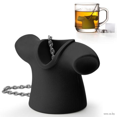 """Приспособление для заваривания чая """"Tea Shirt"""" (черная)"""