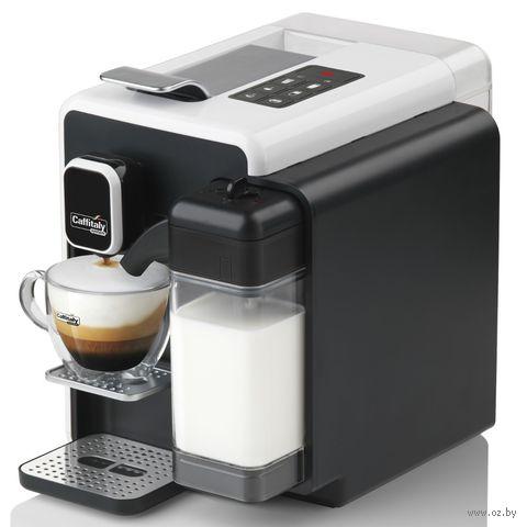 Кофеварка Caffitaly Bianca S22 (черный/белый) — фото, картинка