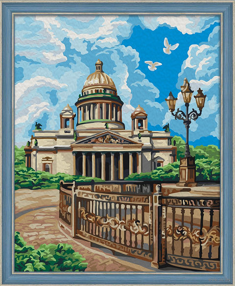 "Картина по номерам ""Исаакиевский собор"" (400х500 мм) — фото, картинка"