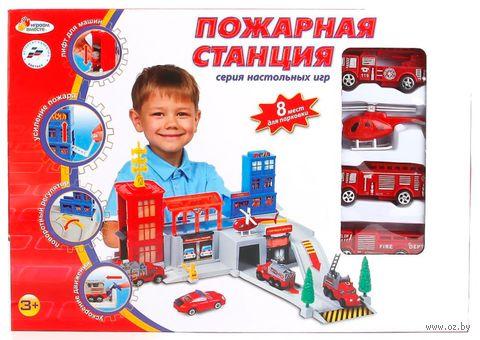 """Игровой набор """"Пожарная станция"""" — фото, картинка"""
