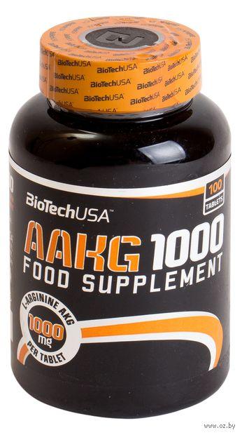 "Аминокислоты ""AAKG"" (1000 мг х 100 шт.) — фото, картинка"
