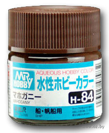 Краска Aqueous Hobby Color водоразбавляемая (mahogany, H-84)