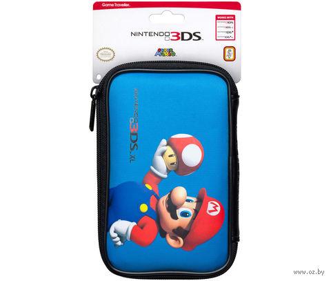 "Чехол синий для Nintendo 3DS ""Марио Гриб"""