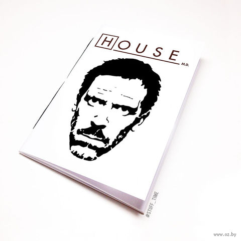 "Блокнот ""Доктор Хаус"" (А5; арт. 092) — фото, картинка"