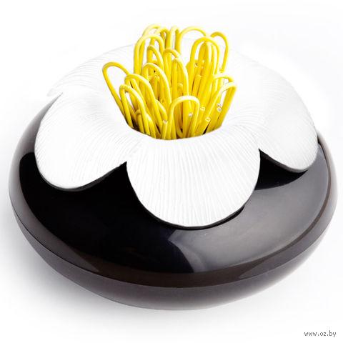 "Шкатулка для мелочей ""Blossom"" (черная/белая)"