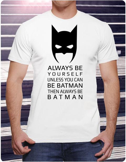 """Футболка мужская """"Бэтмен"""" (размер 48; арт. 1) — фото, картинка"""