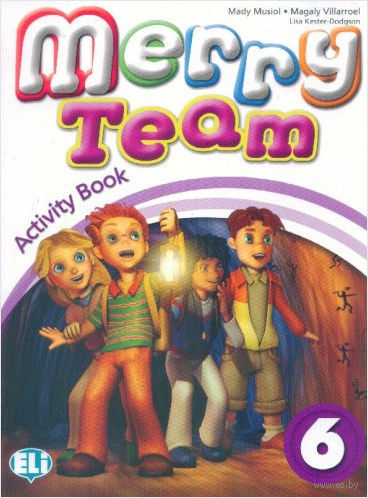Merry Team: Activity Book v. 6 (+ CD) — фото, картинка