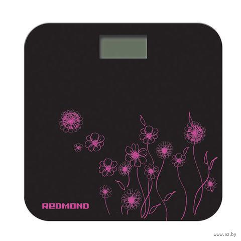 Напольные весы Redmond RS-715 (цветы розовые) — фото, картинка
