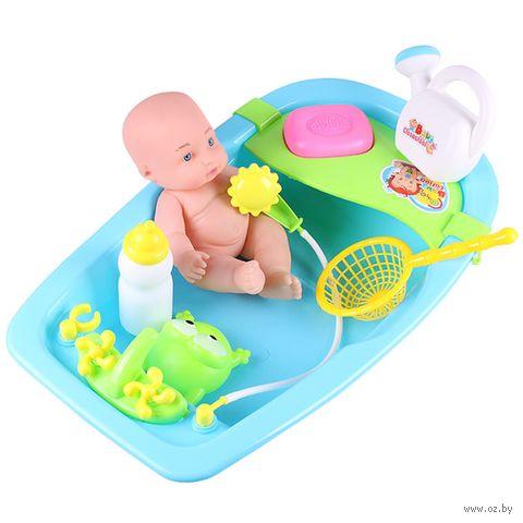 """Пупс """"Малыш в ванночке"""" (арт. DV-T-1656) — фото, картинка"""