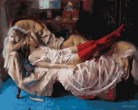 "Картина по номерам ""Сон прекрасной незнакомки"" (400х500 мм)"