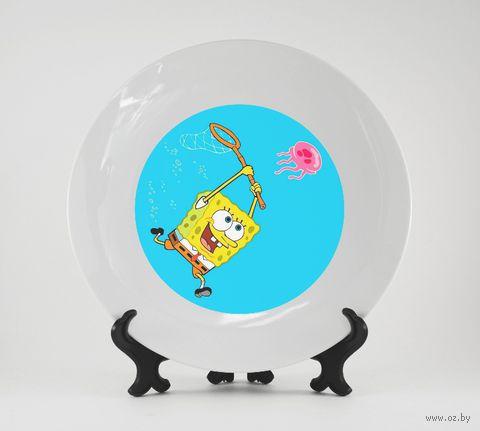 "Тарелка ""Спанч Боб"" (432)"