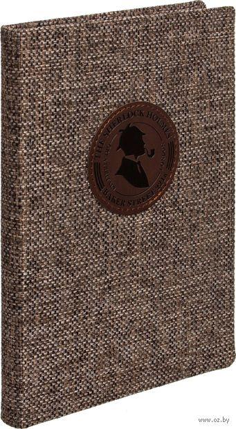 """Ежедневник недатированный """"Sherlock"""" (A5; коричневый)"""