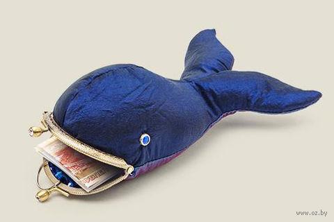 "Ключница-кошелек ""Синий кит"" — фото, картинка"