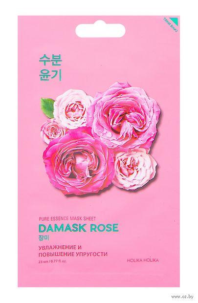 "Тканевая маска для лица ""Damask Rose"" (20 мл) — фото, картинка"