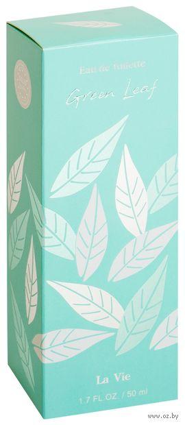 "Туалетная вода для женщин ""Green Leaf"" (50 мл) — фото, картинка"