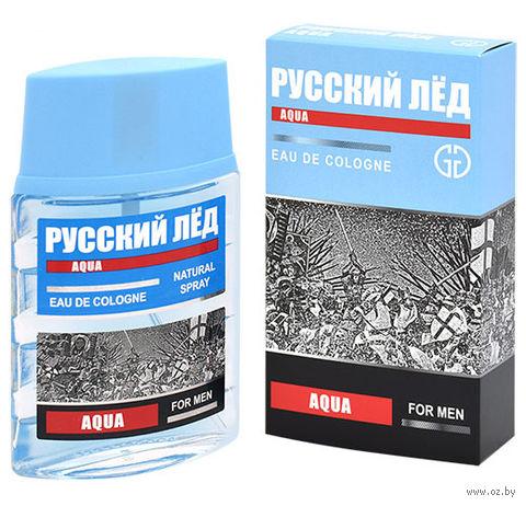 """Одеколон """"Русский лед. Aqua"""" (60 мл) — фото, картинка"""