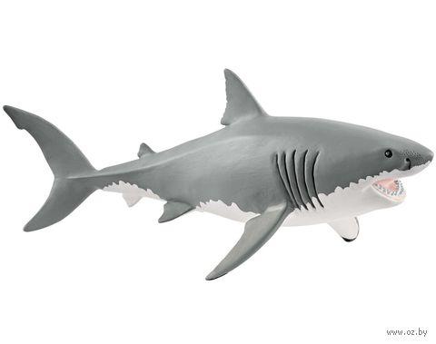 "Фигурка ""Большая белая акула"" (7,8 см) — фото, картинка"