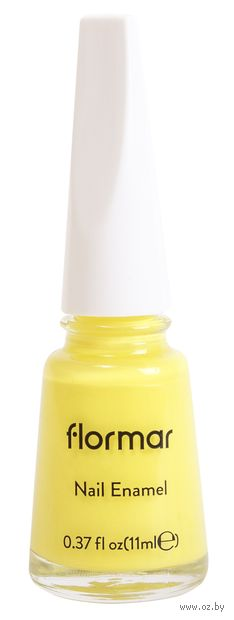 "Лак для ногтей ""Nail Enamel"" (тон: 420, neon yellow-bright color) — фото, картинка"
